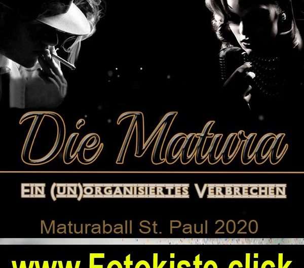 Maturaball 2020 <br> <h3><b>Stiftsgymnasium St.Paul</h3></b> <br> 04.01.2020